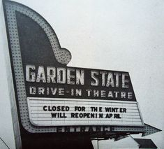 A popular drive-in built in the late a few miles outside Camden in Cherry Hill, NJ. on Route The drive-in lasted until 1970 or so. Drive Inn Movies, Drive In Movie Theater, Jersey Girl, New Jersey, Route 70, Nj Shore, Maple Shade, Pack Up And Go, Moving To Florida