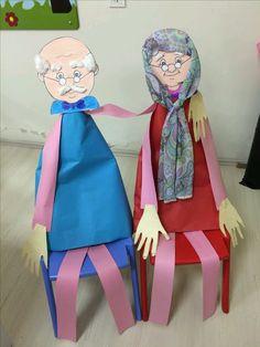 DIY Handmade: 10 prac plastycznych na Dzień Babci i Dziadka - DIY Family Theme, Family Day, Art For Kids, Crafts For Kids, Arts And Crafts, Grandparents Day Crafts, Newspaper Crafts, Bird Crafts, Art N Craft