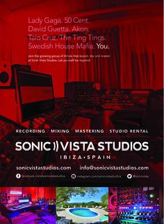 Sonic Vista Studios (Ibiza) Promotional Ad – by James Kontargyris