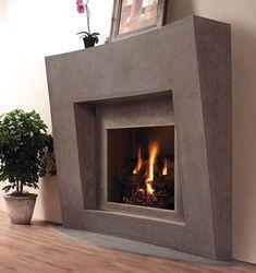 Best Photo Fireplace Mantels gray Suggestions Palermo Stone Fireplace Mantel in Gray Honed Stone Finish Modern Fireplace Mantels, Fireplace Mantel Surrounds, Stone Fireplace Mantel, Traditional Fireplace, Bedroom Fireplace, Fireplace Design, Fireplace Ideas, Stone Fireplaces, Indoor Fireplaces