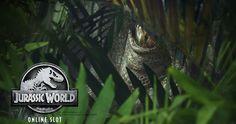 Join Vegas Paradise, avail £5 bonus, play the newest Jurassic World #slotsonline and enjoy huge real wins