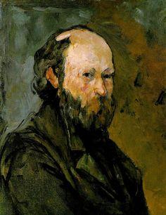 Cezanne self-portrait