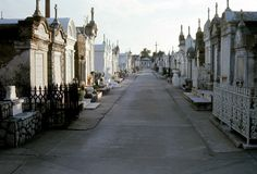 One of the most beautiful cemeteries in 1967 - New Orleans.