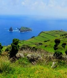 The Azores: A Tapestry of Islands. Islands so remote that when pirates first stumbled upon them they believed they had found Atlantis Azores, Beautiful Places In The World, Small Island, Archipelago, Homeland, Geography, Portugal, To Go, Ocean
