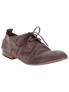 MARSÈLL - brushed leather shoe by farfetch