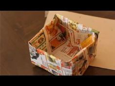 What Can You Make With Waste Paper : Paper Crafts - YouTube