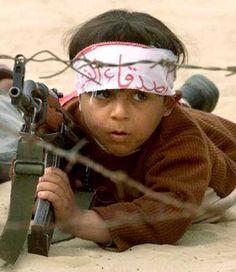 Child soldier, one of the saddest things to take an innocent child to do such horrible acts