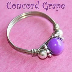 CONCORD GRAPE Celebration Party Ring with Mother of Pearl in Silver Sizes 3 - 10 by Maru: https://www.outbid.com/auctions/31084-maru-s-dino-dlz4u#44