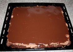 Čokoládovo orechové rezy bez múky - recept postup 9
