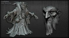 The Character Art of Darksiders II (new images pg 5, 6, 7) - Page 7 http://www.zbrushcentral.com/showthread.php?170535-The-Character-Art-of-Darksiders-II-(new-images-pg-5-6-7)/page7
