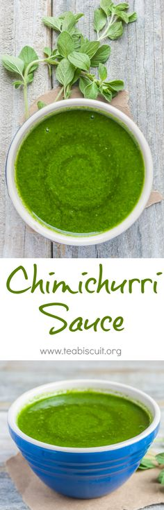 Quick and easy Chimichurri Sauce   teabiscuit.org