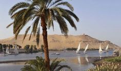 Take time to relax on a traditional felucca on the river Nile  - Aswan