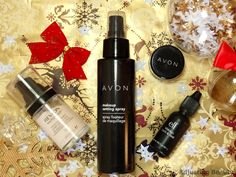 4 Products That Will Make Your Makeup Stay All Day (Avon Makeup Setting Spray, Avon Ideal Flawless Eyeshadow Primer, E.l.f. Makeup Lock and Seal and Revlon Photoready Perfecting Primer).