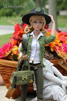 To The Fair! Poppy Parker | Poppy is wearing jeans by Hazel … | Flickr