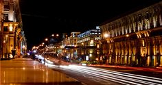 Minsk: Independence Avenue by Night | by lemmingby