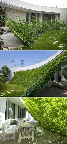 Landscapes also could be created in an artistic way. this is a beautiful artistic landscape idea to decorate your yard. this is a simple diy garden art Dream Garden, Garden Art, Home And Garden, Sun Garden, Garden Shrubs, Terrace Garden, Easy Garden, Tropical Garden, Spring Garden