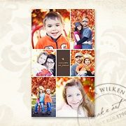 Memories are Forever 4x8 AccordionBook - Photographer Templates - Photographer Photoshop Templates and Marketing Materials