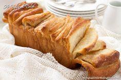 Pane dolce alla cannella (Cinnamon sugar pull-apart bread) http://blog.giallozafferano.it/hovogliadidolce/pane-dolce-alla-cannella-cinnamon-sugar-pull-apart-bread/