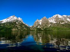 Lake Reflections of the Tetons | Picfari.com