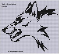Wolf 2 Cross Stitch Pattern   | Craftsy