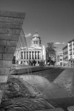 Nottingham's slab square June 2011