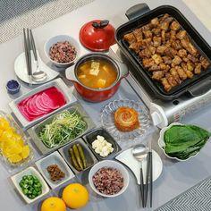 Samyeopsal K Food, Love Food, Food Porn, Food Goals, Aesthetic Food, Perfect Food, Korean Food, Food Design, Asian Recipes