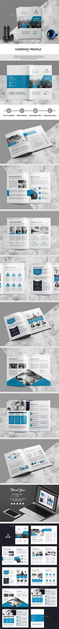 Business Brochure Template InDesign INDD