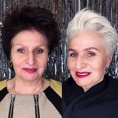Natural-Hair-Color Beautiful Pixie Cuts for Older Women 2019 Short Hair Older Women, Short Grey Hair, Haircut For Older Women, Older Women Hairstyles, Black Hair, Women Pixie Haircut, Short Pixie Haircuts, Haircuts With Bangs, Pixie Hairstyles