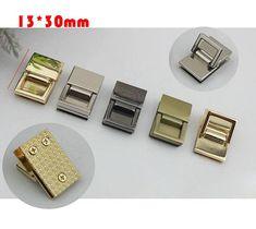 10--100pcs 13 30mm purse belt Handbag square Ring screw Connector de57f38b31c8a