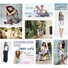 ZomerLook 2015 by jj-van-gemert on Polyvore featuring Vero Moda, Gerry Weber, VILA and Aaiko