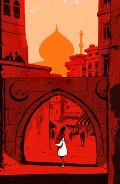 patrickleger  Recent book cover for Penguin. The novel follows a young woman as she is recruited into MOSSAD and becomes a spy in an unnamed, middle eastern country posing as an English Teacher.   The final cover was cropped to accommodate the title better.
