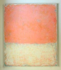 "Saatchi Art Artist Christian Hetzel; Painting, ""pink white painting"" #art"