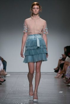 A look from the Rebecca Taylor Spring 2015 RTW collection.