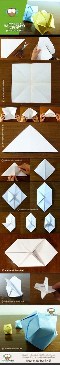 Balaozinho de papel #festa #junina