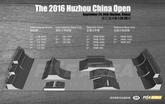 the huzhou 2016 china open skatepark fise area trigger skate