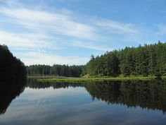 Little Cranberry Lake in Anacortes WA...fell out of a conoe a time or two there
