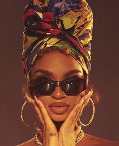 Black Girl Aesthetic, Brown Aesthetic, Black Girl Magic, Black Girls, Mode Old School, Hair Afro, Mode Turban, Look Girl, Brown Skin Girls