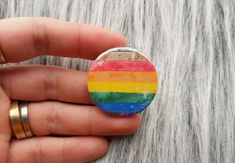 Lesbian Gifts, Flag Pins, Rainbow Outfit, Pride Flag, Rainbow Pride, Sew On Patches, Muted Colors, Custom Labels, Badge