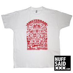 Amsterdam t-shirt tshirt nuffsaid nuffsaidxxx mokum fashion clothing tee imperial www.nuffsaidxxx.com ghetto drugs coffeeshop redlight graffiti violence skate 020 dutch beer skyline febo tshirt ajax afca straat street dice kush boxing euro coke needle money bike gun skimask xxx subway chess soccer instagram 5 scooter vespa city a'dam adam design alcohol 420 rat dog tattoo screwdriver bat shroom uzi s noord oost west zuid sjaak diamond marker camera jenever rembrandt skyline coffeeshop…