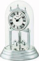 Seiko Clocks Anniversary Mantel Clock in Glass Dome QHN006SLH