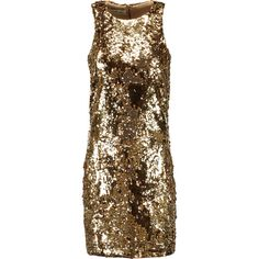 By Malene Birger Rikkias sequined stretch-jersey mini dress (12.855 RUB) ❤ liked on Polyvore featuring dresses, gold, embellished cocktail dress, sequin cocktail dresses, by malene birger dress, embellished short dress and stretch jersey