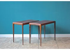 Danish Rosewood Night Tables by Johannes Andersen for CFC Silkeborg, 1960s - Furniture - Products