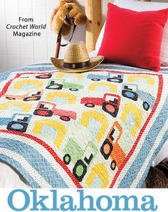 Oklahoma from the Autumn 2016 issue of Quilter's World Magazine. Order a digital copy here: https://www.anniescatalog.com/detail.html?prod_id=132522