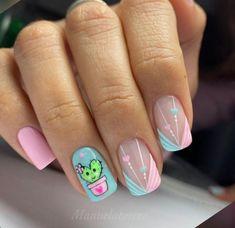 Acrylic Nail Shapes, Cute Acrylic Nails, Hello Nails, Kawaii Nail Art, Cute Nail Art Designs, Easter Nails, Hot Nails, Dream Nails, Nail Decorations