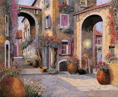 Archi A Toni Viola Painting