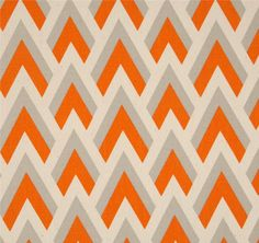 Mandarin Orange Fabric. Zapp Orange  and Natural. Premier prints. Fabric Supply. Home decor Fabric. Fabric by the yard by TwistedBobbinDesigns on Etsy