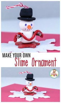 Make this super fun DIY slime ornament to show the world how much you love slime! This kid-made ornament is fun for all ages! Easy To Make Christmas Ornaments, 10 Days Of Christmas, Christmas Ornaments To Make, Personalized Christmas Ornaments, Christmas Books, Kids Christmas, Christmas Crafts, Fun Activities For Kids, Christmas Activities