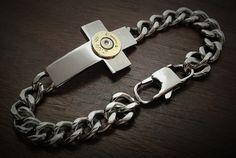 Cross Bullet Bracelet