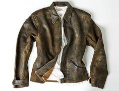 Levi's Vintage 1930s Menlo Leather Jacket – Online Now