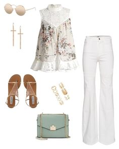 """Untitled #1578"" by yourmumschesthair on Polyvore featuring Jennifer Lopez, Zimmermann, Linda Farrow, LJ Cross and Forever 21"